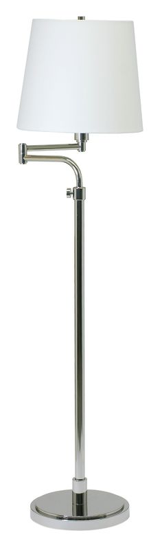 House of Troy TH700 Townhouse 1 Light Swing Arm Adjustable Floor Lamp