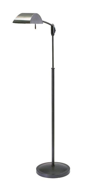House of Troy V503 Vision 1 Light Adjustable Floor Lamp Oil Rubbed