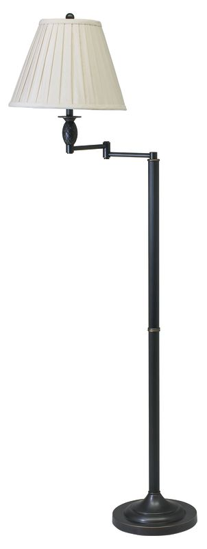 House of Troy VG400 Vergennes 1 Light Swing Arm Floor Lamp Oil Rubbed