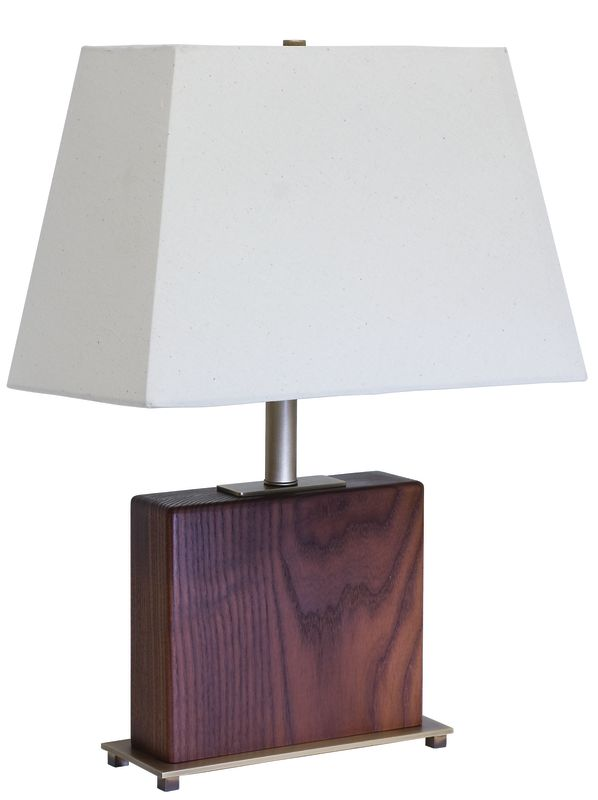 "House of Troy VH250A VT Hardwood Caramelized Ash 22"" Table Lamp with 1"