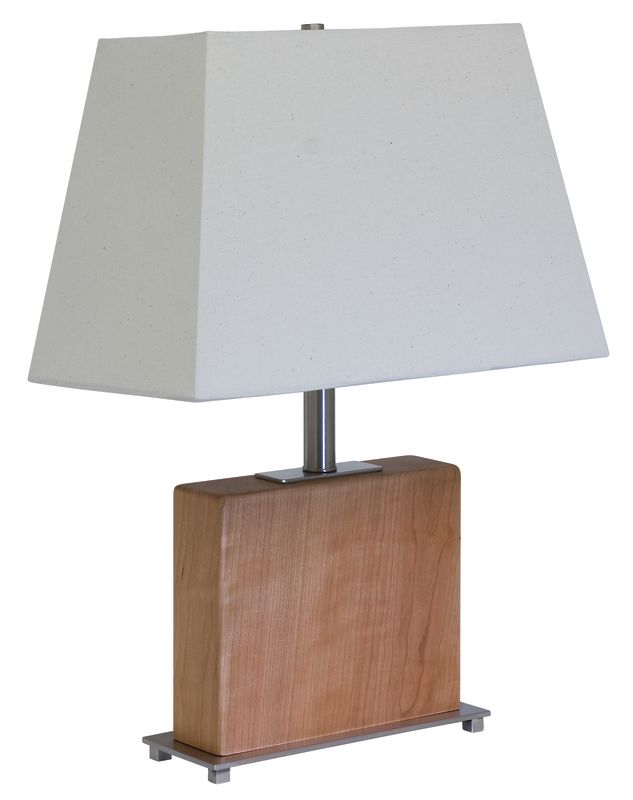 """House of Troy VH250C VT Hardwood Cherry 22"""" Table Lamp with 1 Light"""