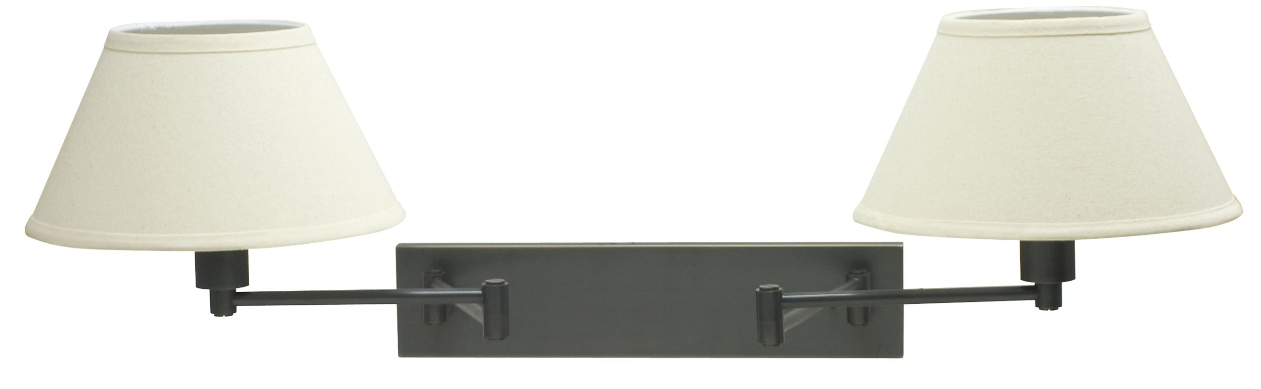 House of Troy WS14-2 Home / Office 2 Light Double Swing Arm Wall