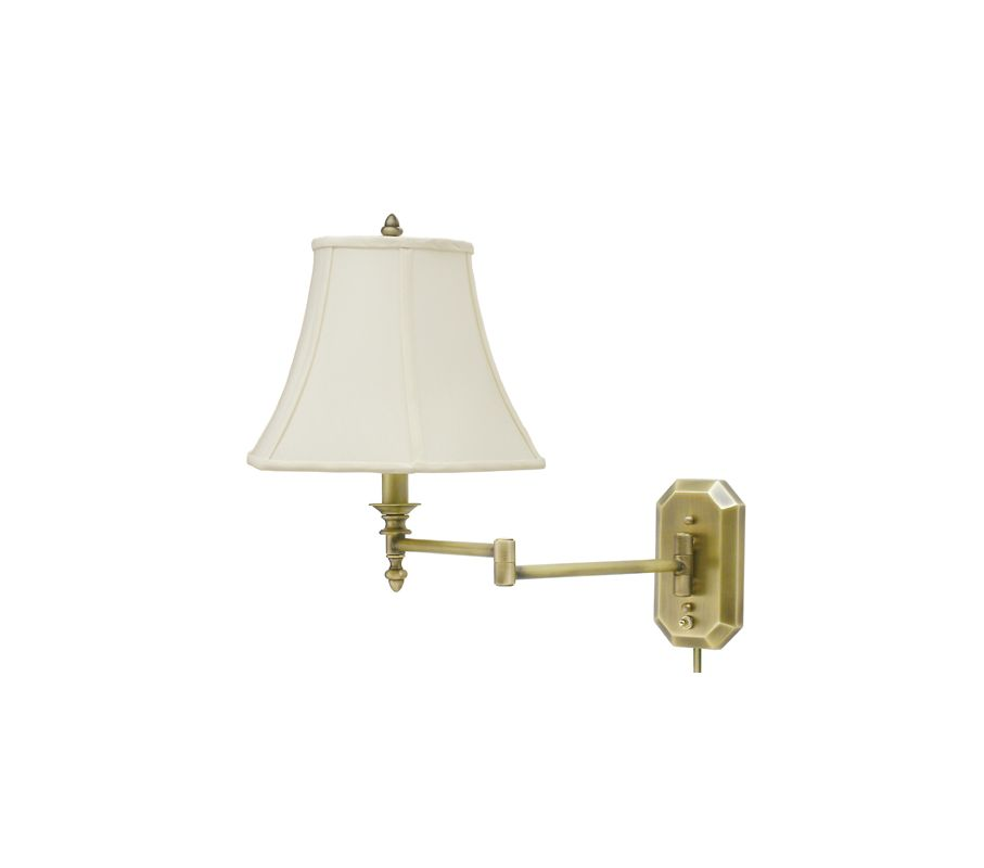 House of Troy WS-708 Swing Arm Wall Sconce from the Wall Swing Arm