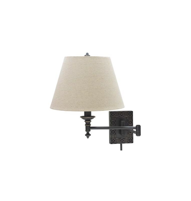 House of Troy WS763 Decorative 1 Light Swing Arm Wall Sconce with Sale $198.00 ITEM: bci1961728 ID#:WS763-OB UPC: 753174055252 :