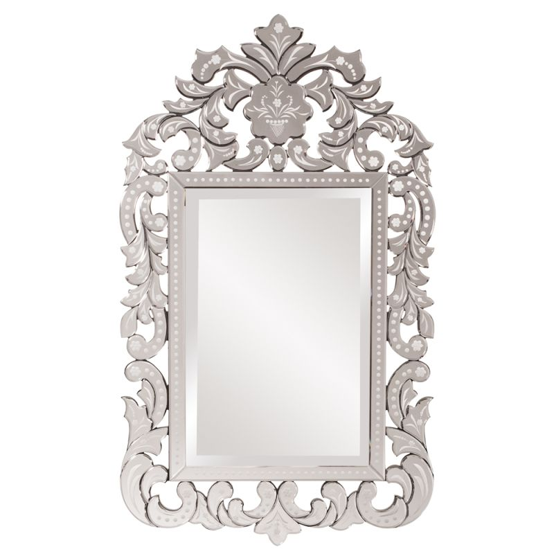 "Howard Elliott 11106 Regina 56"" x 34"" Venetian Mirror Clear Home Decor"