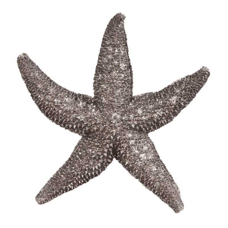 Howard Elliott 12172 Wall Art Deep Pewter Starfish - Small Deep Pewter