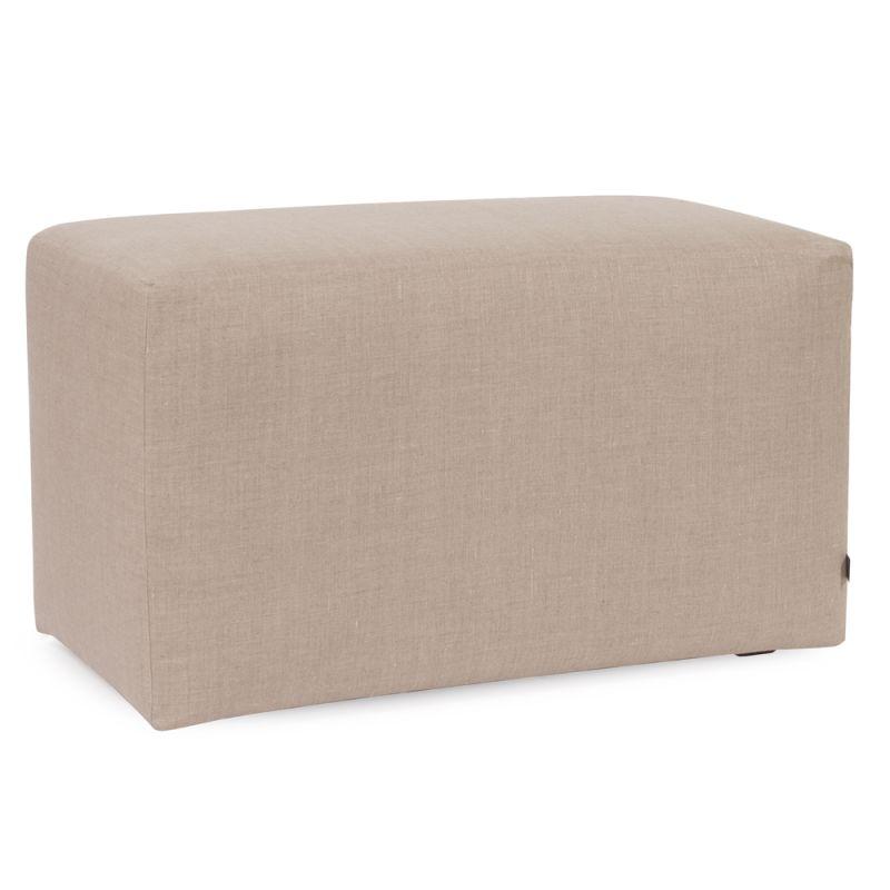 "Howard Elliott Prairie Universal Bench 36"" Wide Linen Bench Natural"