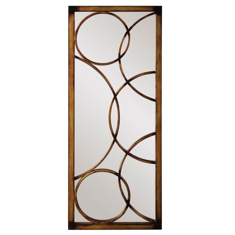 "Howard Elliott 13225 Brittany 47"" x 21"" Metal Mirror Bronze Home Decor"