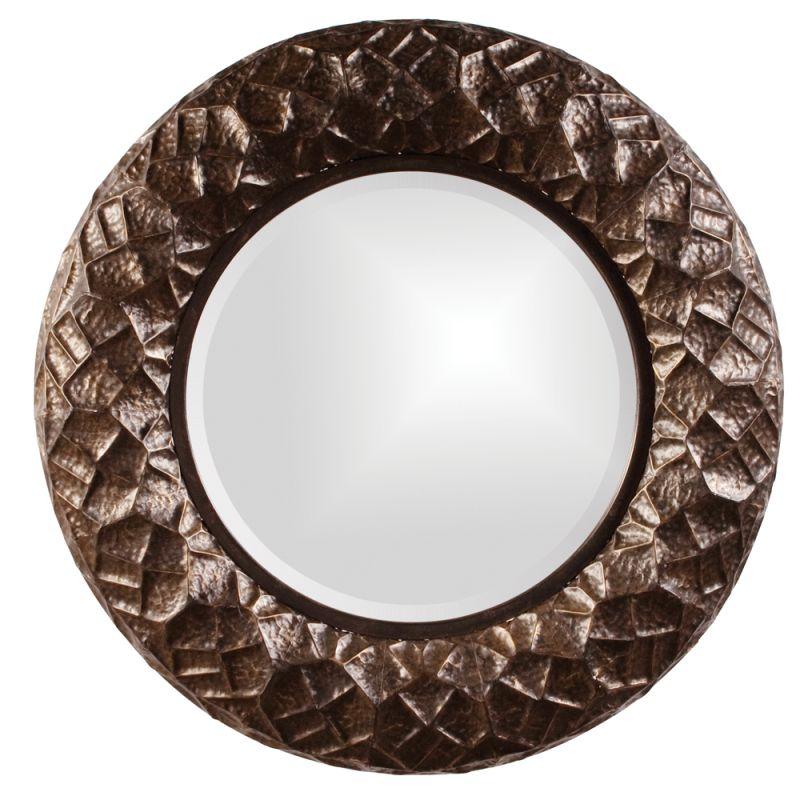 "Howard Elliott 13347 Chuck 33"" x 33"" Metal Mirror Bronze Home Decor"