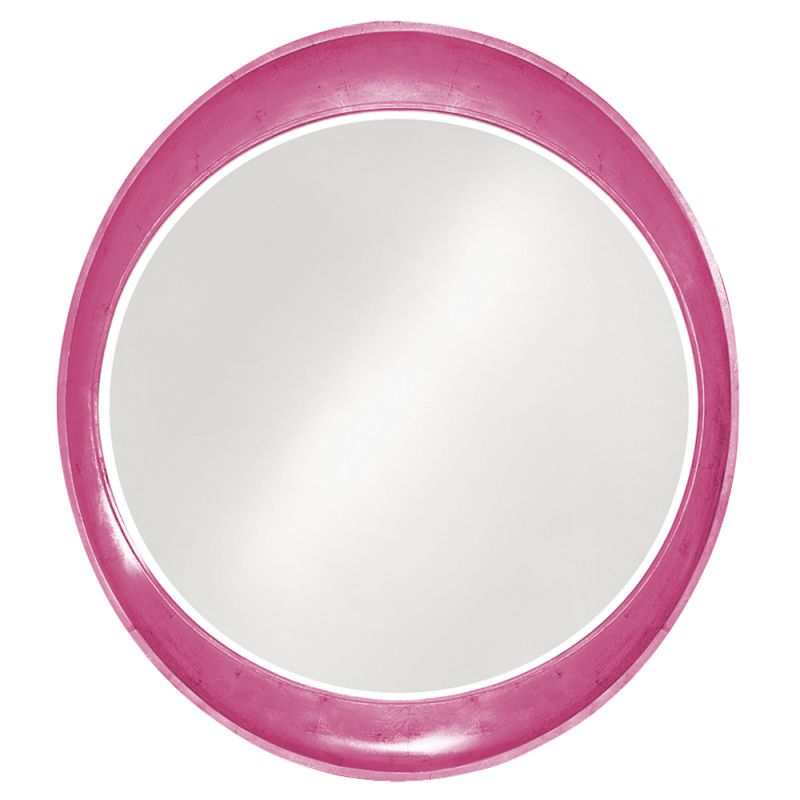 "Howard Elliott 2070HP Ellipse 39"" x 35"" Glossy Hot Pink Mirror Glossy"