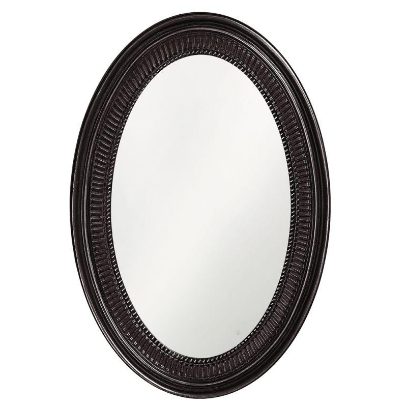 "Howard Elliott 2110BL Ethan 31"" x 21"" Black Mirror Black Home Decor Sale $209.90 ITEM: bci2700928 ID#:2110BL UPC: 848635014418 :"