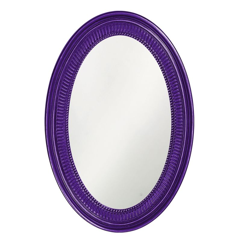 "Howard Elliott 2110RP Ethan 31"" x 21"" Royal Purple Mirror Royal Purple Sale $209.90 ITEM: bci2700938 ID#:2110RP UPC: 848635014432 :"