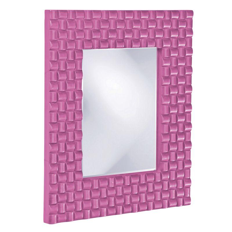 "Howard Elliott 21114HP Justin 26"" x 22"" Hot Pink Mirror Hot Pink Home Sale $209.90 ITEM: bci2700942 ID#:21114HP UPC: 848635014494 :"