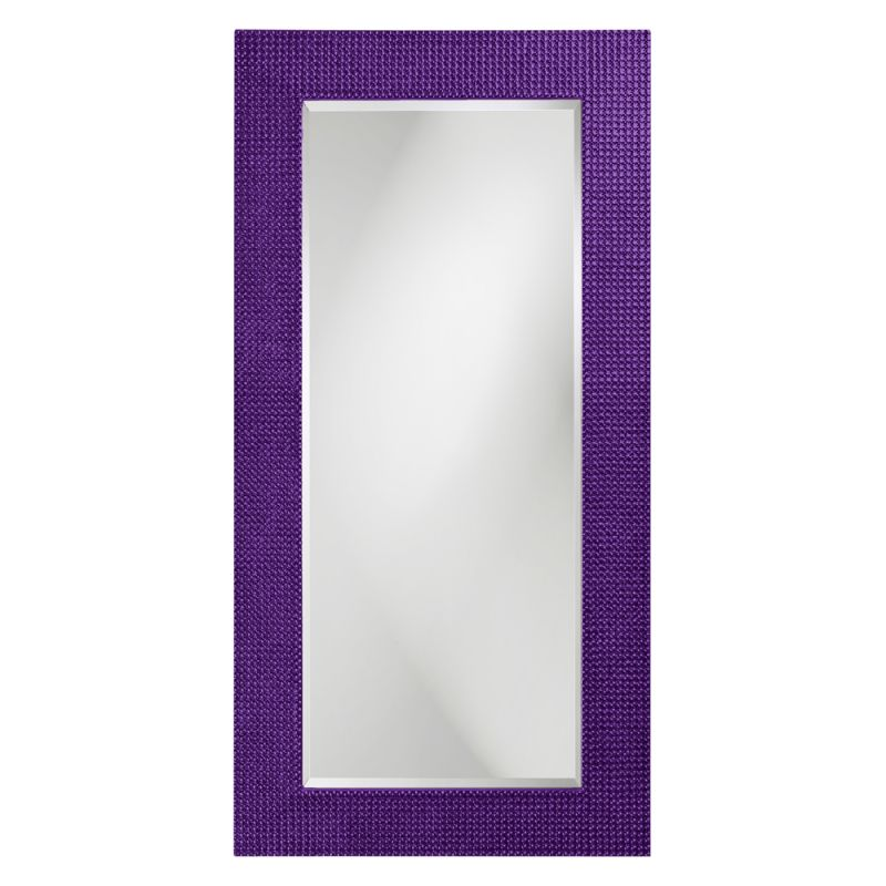 "Howard Elliott 2142RP Lancelot 60"" x 30"" Royal Purple Rectangle Mirror"