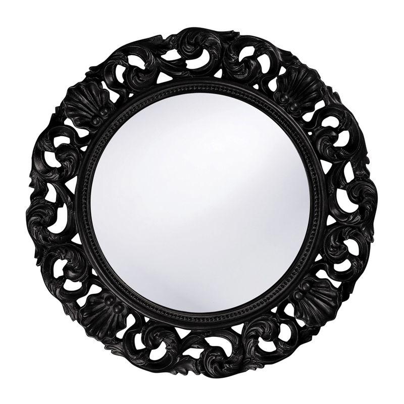 "Howard Elliott 2170BL Glendale 26"" x 26"" Black Mirror Black Home Decor Sale $209.90 ITEM: bci2700073 ID#:2170BL UPC: 848635016122 :"