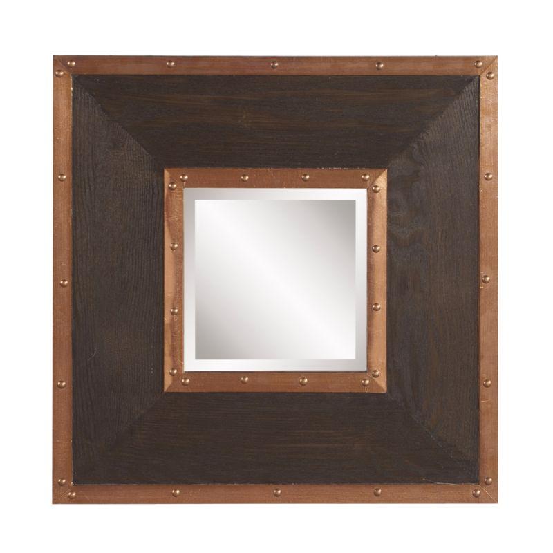 "Howard Elliott Zane Square Mirror 20"" x 20"" Square Mirror from the Sale $210.00 ITEM: bci2856478 ID#:37162 UPC: 848635064482 :"