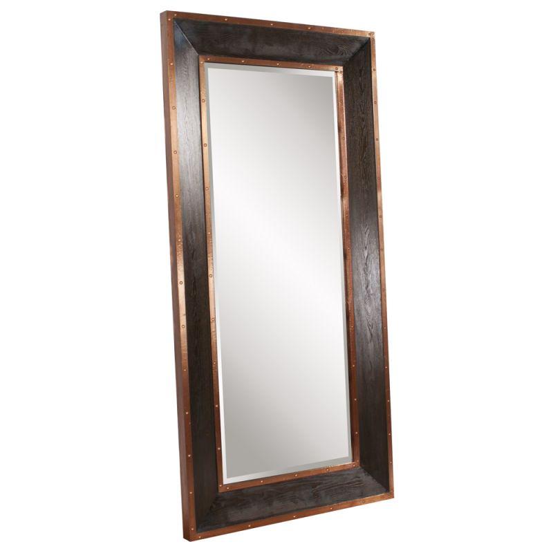 """Howard Elliott Blaze Leaner Mirror 72"""" x 36"""" Rectangular Mirror from"""