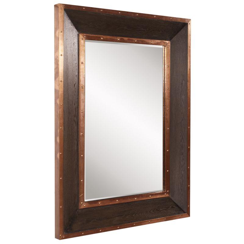 "Howard Elliott Blaze Rectangular Mirror 48"" x 36"" Rectangular Mirror"
