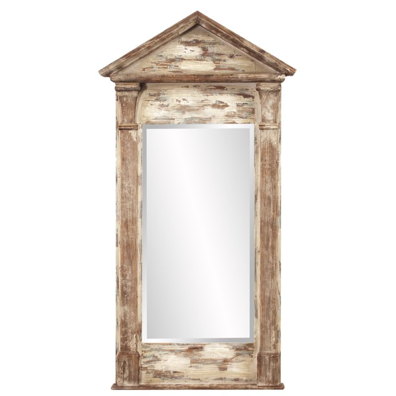 "Howard Elliott 39020 Everett 59"" x 29"" Rustic Mirror Brown Home Decor"