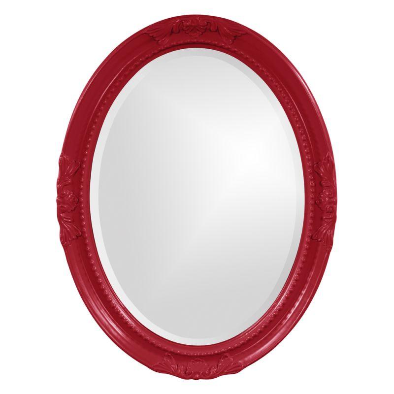 "Howard Elliott 40101R Queen Ann 33"" x 25"" Red Mirror Red Home Decor Sale $209.90 ITEM: bci2700102 ID#:40101R UPC: 848635018492 :"