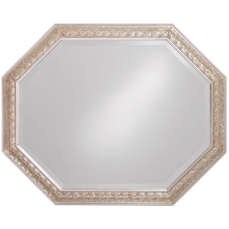 """Howard Elliott 4021 Crete 42"""" x 33"""" Silver Leaf Mirror Silver Leaf Sale $199.90 ITEM: bci2700407 ID#:4021 UPC: 852412040217 :"""