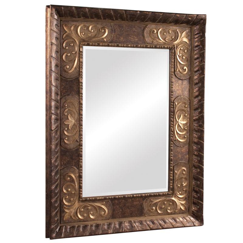 "Howard Elliott 43002SM Tate 53"" x 41"" Small Mirror Bronze Home Decor"