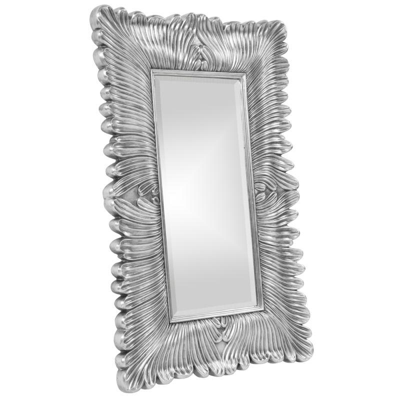 """Howard Elliott 43078N Zephyr 56"""" x 36"""" Nickel Mirror Nickel Home Decor"""