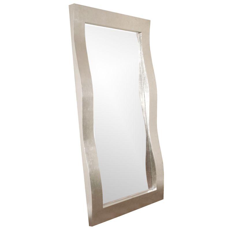 """Howard Elliott 51240 Montrose 84"""" x 48"""" Oversized Leaner Mirror Nickel"""
