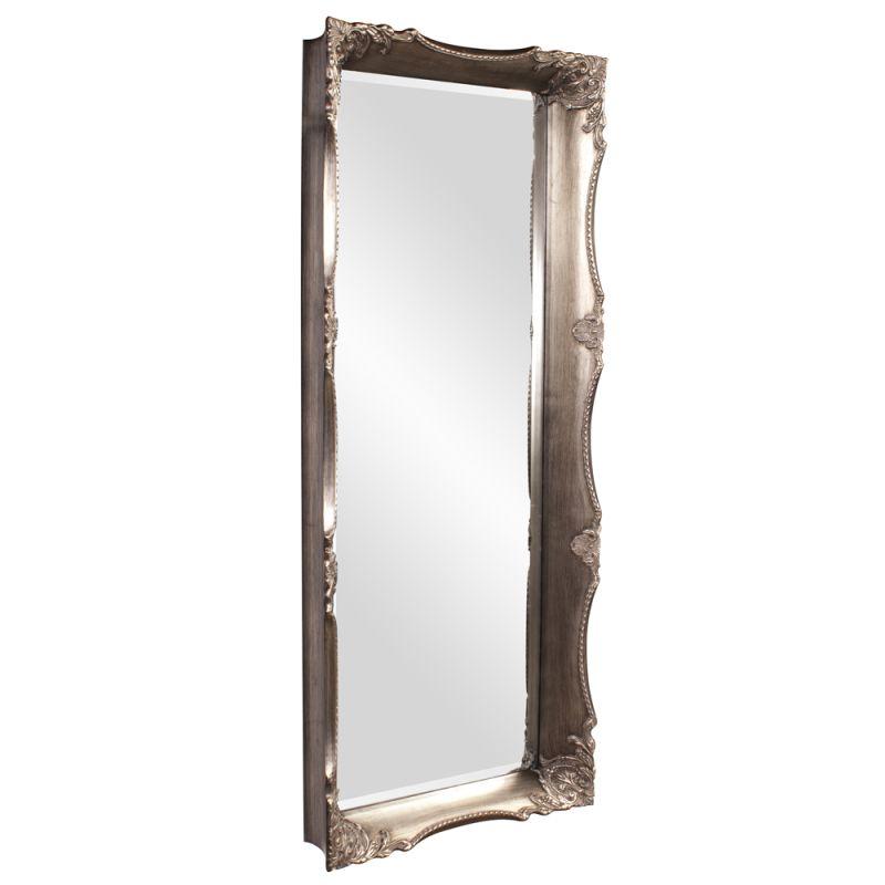 """Howard Elliott 53061 Charlene 72"""" x 30"""" Oversized Mirror Silver Home"""