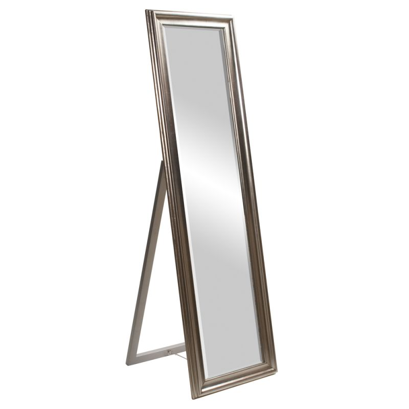 "Howard Elliott 56019 Taylor 60"" x 20"" Silver Mirror Silver Home Decor"