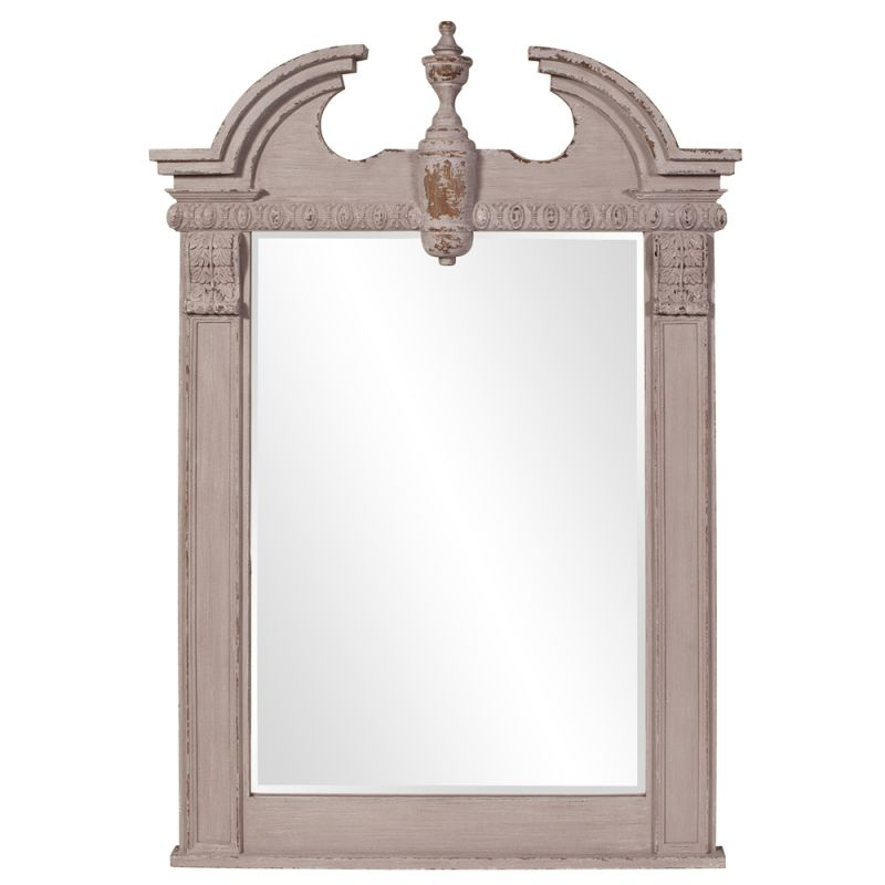 "Howard Elliott 56060 Thornbury 71"" x 46"" gray Mirror Gray Home Decor"