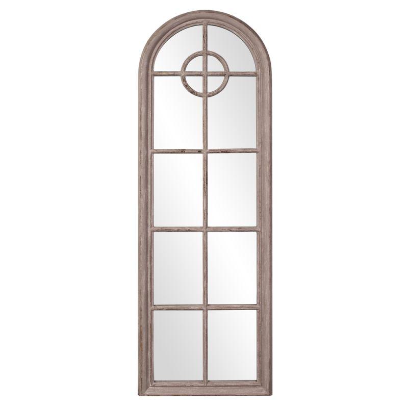 """Howard Elliott 56068 Daydreamer 71"""" x 24"""" Arched Mirror Grey Home"""