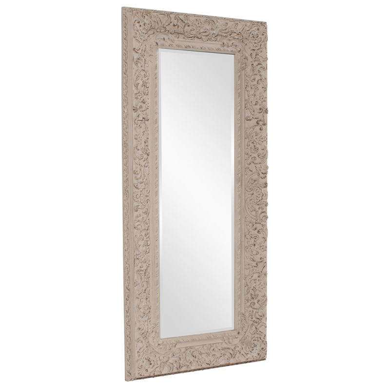 "Howard Elliott 56098 Mitchum 71"" x 32"" Oversized Leaner Mirror Grey"