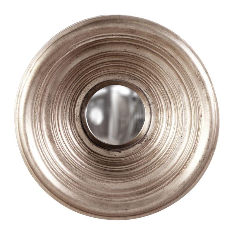 "Howard Elliott 56130 Silas 15"" x 15"" Silver Mirror - Small Silver Home"