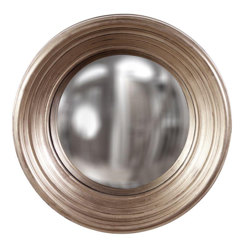 """Howard Elliott 56132 Silas 20.5"""" x 20.5"""" Silver Mirror - Medium Silver"""