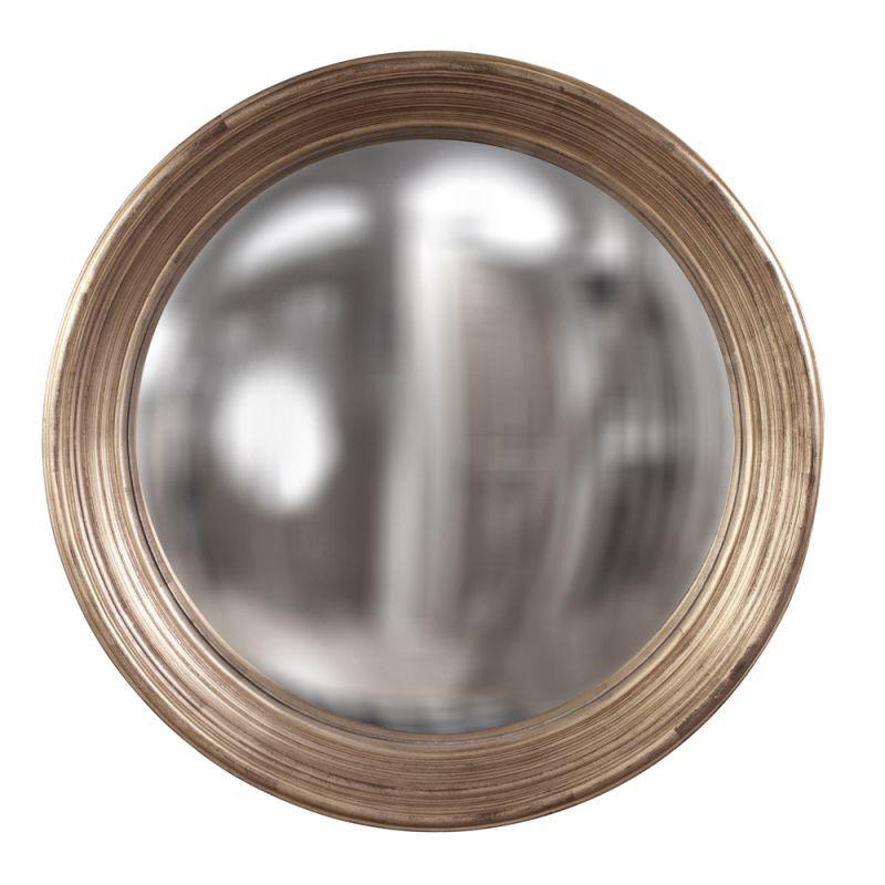 "Howard Elliott 56134 Silas 34"" x 34"" Silver Mirror - Large Silver Home"
