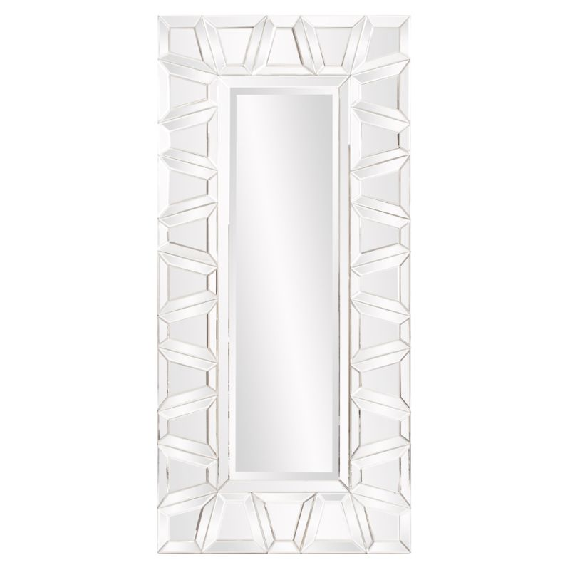 "Howard Elliott Charlotte Modern Mirror 72"" x 34"" Rectangular Mirror"