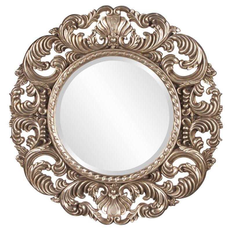 """Howard Elliott Xander Round Mirror 35"""" Diameter Circular Mirror from"""
