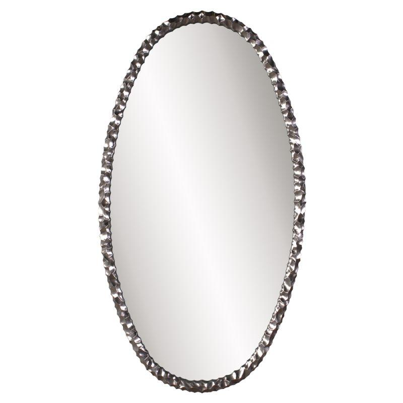 "Howard Elliott Memphis Oval Mirror 66"" x 36"" Oval Mirror from the"