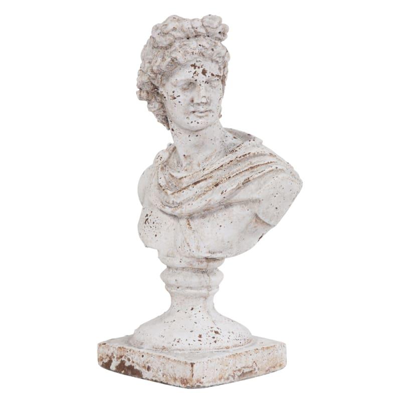 "Howard Elliott Old World Ceramic Female Ceramic Bust 14"" Tall Ceramic"