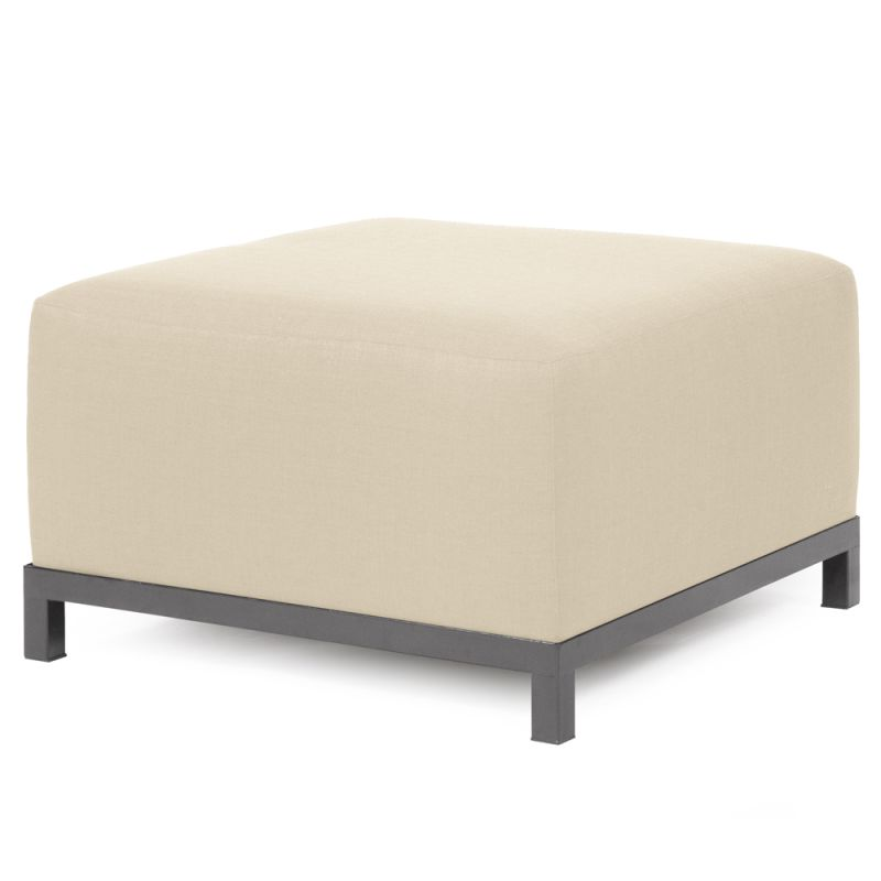 "Howard Elliott Sterling Axis Ottoman with Titanium Frame 30.5"" Square Sale $407.00 ITEM: bci2856209 ID#:K902T-203 UPC: 848635022796 :"