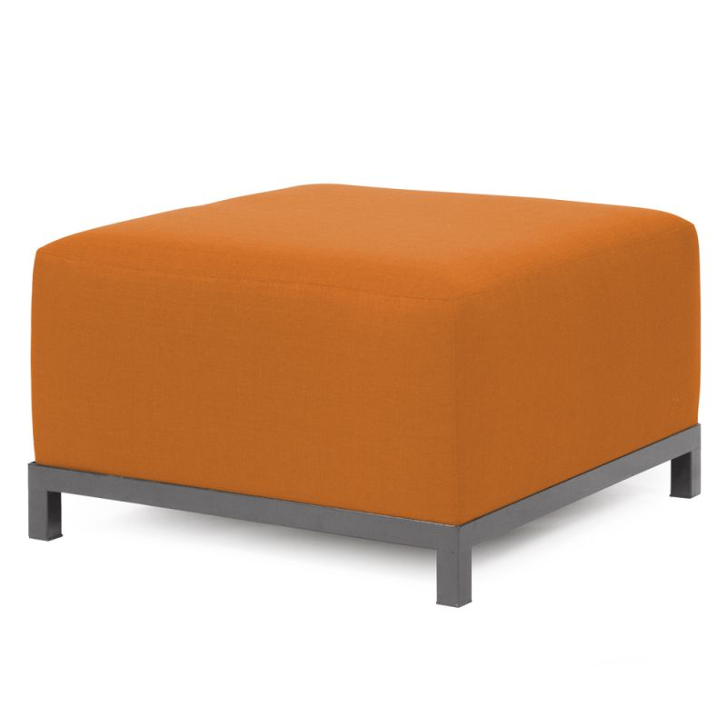 "Howard Elliott Sterling Axis Ottoman with Titanium Frame 30.5"" Square Sale $407.00 ITEM: bci2856205 ID#:K902T-229 UPC: 848635022833 :"