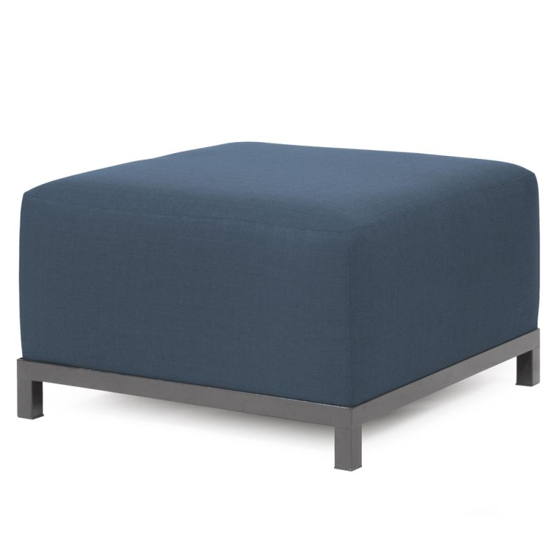 "Howard Elliott Sterling Axis Ottoman with Titanium Frame 30.5"" Square Sale $407.00 ITEM: bci2856208 ID#:K902T-230 UPC: 848635022840 :"