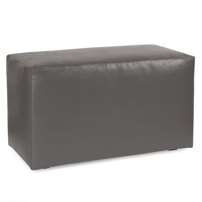 "Howard Elliott Atlantis Slate Universal Bench 36"" Wide PVC Fabric"