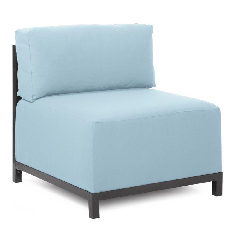 Howard Elliott Q920-461 Axis Seascape 30 X 17 Chair Slipcover Breeze