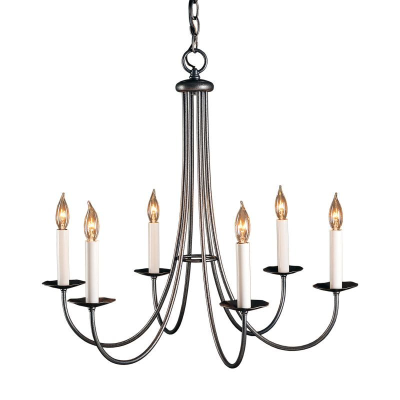 Hubbardton Forge 101160 Simple Lines 6 Light 26&quote Wide Candle Style