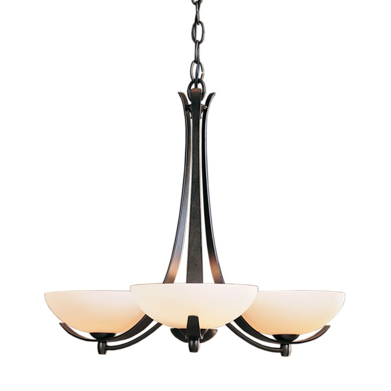 "Hubbardton Forge 101260 Aegis 3 Light 22"" Wide Chandelier with"