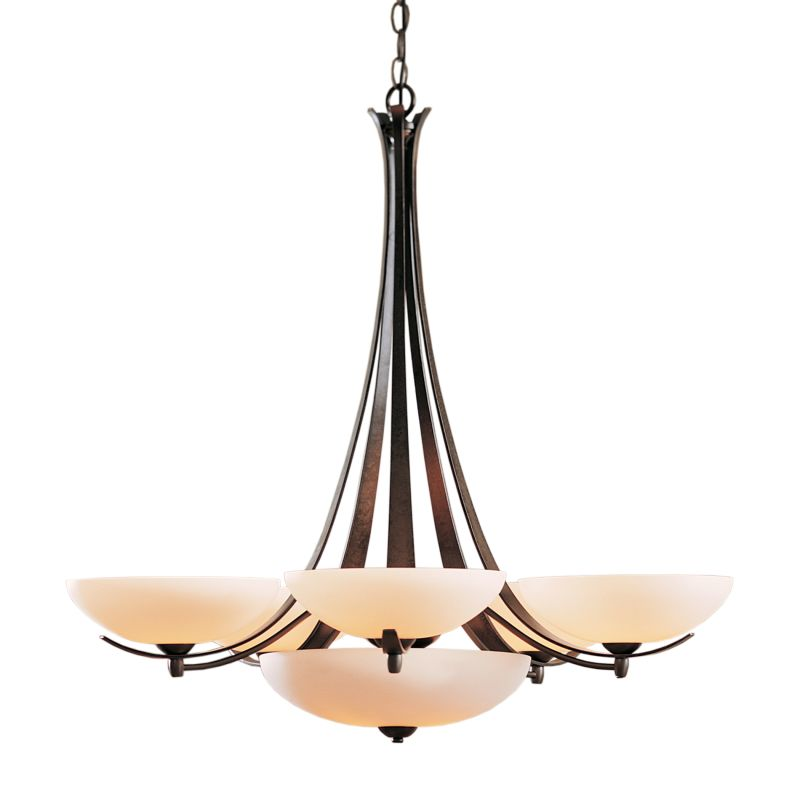 "Hubbardton Forge 101263 Aegis 7 Light 31"" Wide Chandelier with"