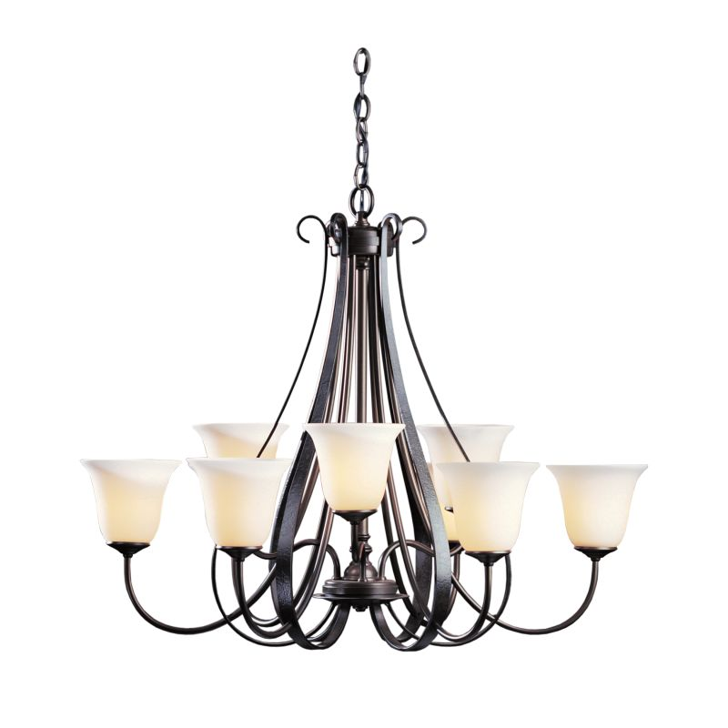 """Hubbardton Forge 101459 Sweeping Taper 9 Light 32"""" Wide Chandelier Sale $2373.80 ITEM: bci1333971 ID#:101459-07 :"""