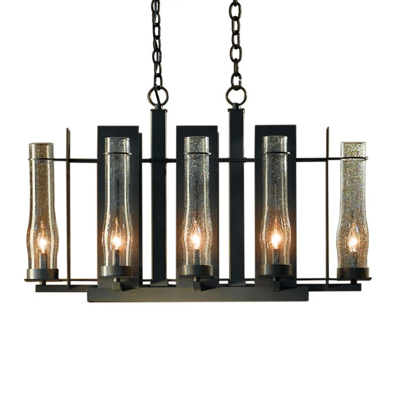 "Hubbardton Forge 103285 New Town 8 Light 36"" Wide Chandelier with"